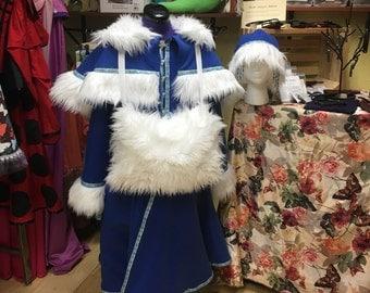 Slavic fleece coat