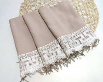 bridesmaid shawl, wedding, scarf, taupe, wedding gift, wedding shawl, gift for bridesmaid, bridesmaid scarf, pashmina scarf,