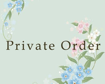 Private order for M