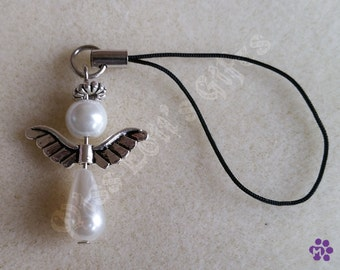 Bead Angel Phone / Bag Charm