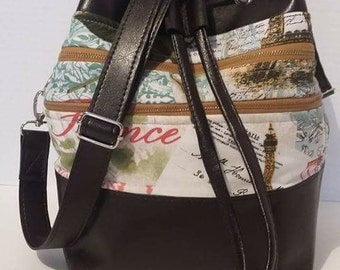 Crossbody Bucket Bag PDF Pattern
