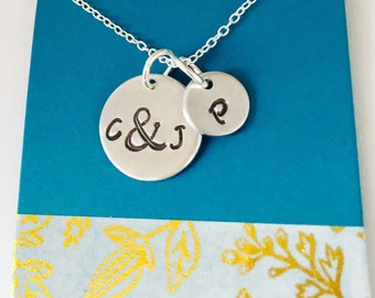 Mom Necklace, Personalized Family Necklace, Personalized Necklace for Mom, Family Necklace, Mom Gift, Initial Necklace