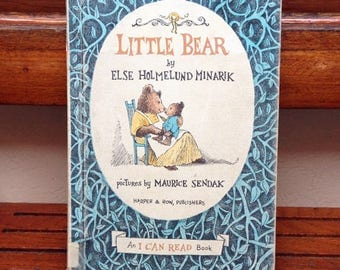 Little Bear by Else Holmelund Minarik & illustrated by Maurice Sendak • Hardcover, 1957, no DJ, rare and collectible