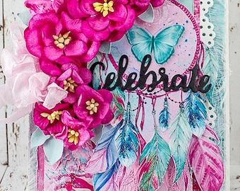 Layerd Celebrate Card