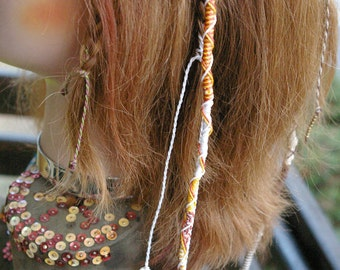 Natte Maïta Jewels of original hair and detachable
