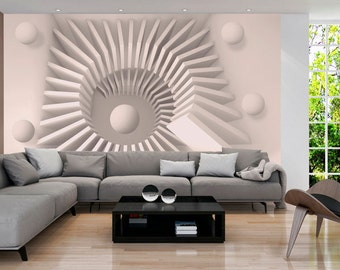 Photo Wallpaper Wall Murals Non Woven 3D Modern Art Optical