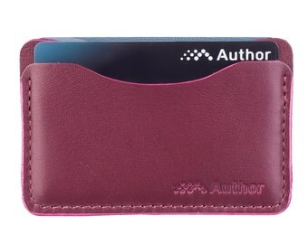 leather card case/ credit card holder / slim wallet / multiple card case / card case / oyster holder / minimalist / genuine leather
