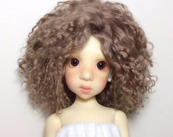 Custom made BJD mohair wig Kaye wiggs BJD mohair wig MSD mohair wig Yosd mohair wig
