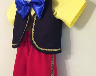 Pinocchio Costume, for Toddlers & Kids in size 2T to size 8