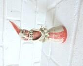 Handmade Porcelain Figure - Ceramic Sculpture -Contemporary  Modern Pottery -Charlotte