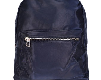 Deadstock 90s Nylon Backpack ~ Black