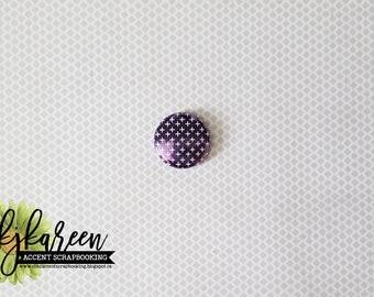 """Badge 1 """"- more metal purple"""