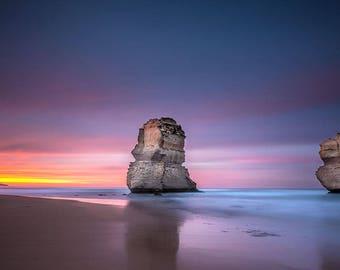 Australia Photography, 12 Apostles, Dawn Photography, Landscape Photography, Wall Art, Gallery Art, Fine Art Print, Michael Evans