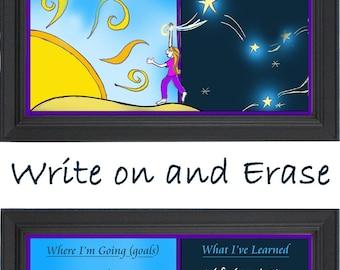 "Inspire Erase-board  ""Where I'm Going (Goals)"""