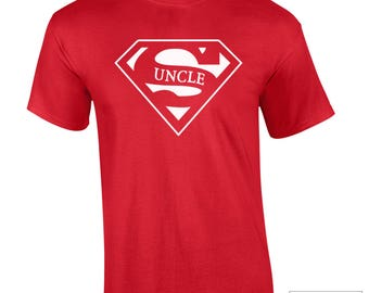 Uncle t-shirt / Super Uncle Shirt / Gift For Uncle / Uncle Gift / Super Uncle Shirt / Uncle Shirt / Uncle Gift / 360