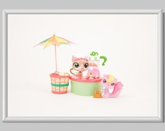 Toy Photography Print, Home Decor, Kids Room Decor Print, Nursery Room Decor Print, Toy Decor Print, Toy Juice Stand