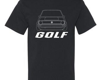 Golf MK1 shirt with design* custom t shirt* custom * graphic tee * design shirt * volkswagen * vw shirt * classic shirt* awesome