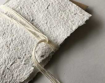 3x5 Lavender Infused Handmade Paper
