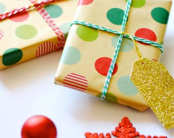 Gift Wrap Option; Casual Holiday Gift Wrap Option; Simple and Casual; With or Without a Personal Note