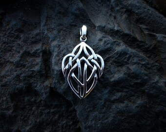 Sterling Silver Celtic Pendant - #304