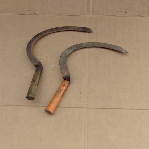 Antique Sickle Scythe Harvest Knife Hand Sickle Old