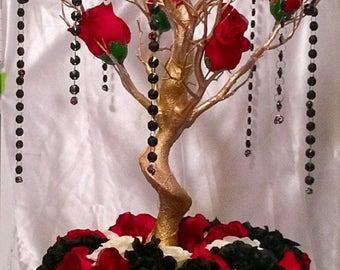 "Manzanita centerpiece, 30"" manzanita tree, manzanita branches, Day of the Dead"