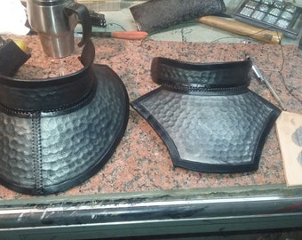 Leather Gorget