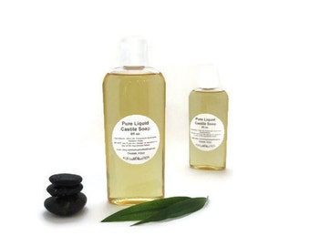 how to make liquid castile soap with olive oil