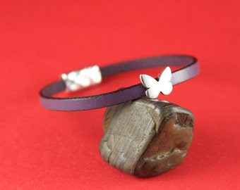 3A/1 MADE in EUROPE 4 zamak butterfly sliders for 5mm cord, flat cord slider, zamak butterfly slider (78311/05) qty4