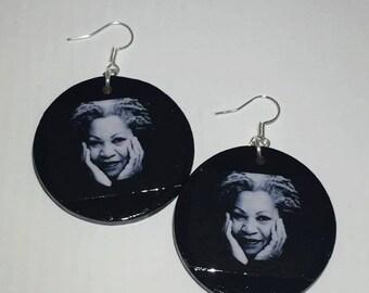Toni Morrison Earrings