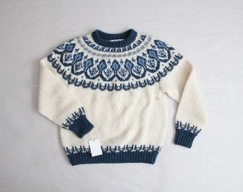 fair isle sweater | wool sweater | danish sweater