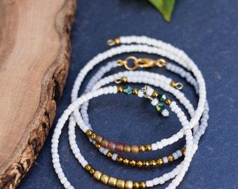 Friendship Bracelet, Dainty Bracelet, Adjustable Bracelet, Seed Bead Bracelet, Bridesmaid, Dainty Bracelet, Beaded Bracelet, Stones By Grace