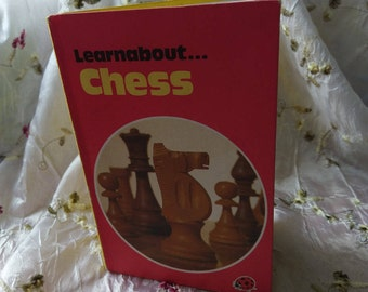 Vintage Ladybird Book - learnabout Chess,
