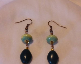 A Touch of Turquoise Dangle Earrings