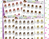Tired Planner Stickers | Coffee Planner Stickers | Adulting Planner Stickers | Character Stickers | 472 | 473 | 474 | 475 | 476