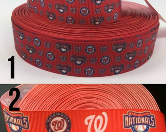 Washington Nationals baseball dog/cat collar, sports, kitten, puppy, breakaway cat collar, adjustable, red, navy blue, pet, safety collar