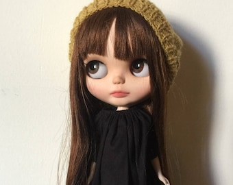 Blythe doll knitted hat