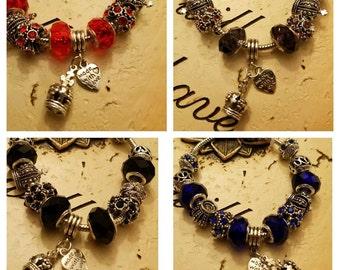Charm Bracelet Several Colors