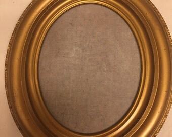 Vintage Oval Wood Picture Frames
