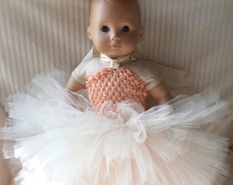 Doll Tutu Dress, American Girl Tutu Dress, Bitty Baby Tutu Dress, Doll Outfit, Mommy And Me, Bitty Baby Clothes, American Girl Clothes