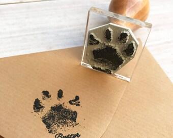 Dog Paw Stamp Etsy