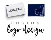 Custom Logo Design - Business Logo - Custom Branding Package - Brand logo design - professional logo design - logo design service