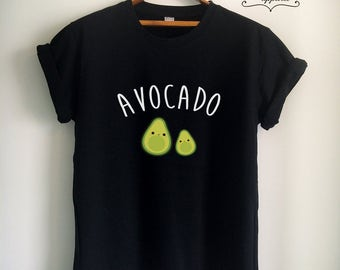 Vegan Shirt Vegan T Shirt Avocado Shirt Avocado T Shirt Vegan Merch Women Girls Men Tumblr Vegetarian Top Tee White/Grey/Black/Burgundy/Navy