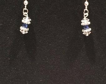 Swarovski Crystal Bead Drop Earrings (#7824)