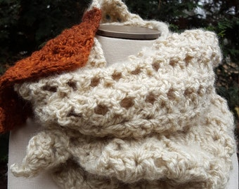 Handmade Two-Toned Scarf