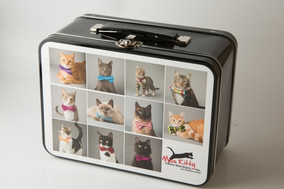 Cats and Dogs in Bowties - Lunchbox