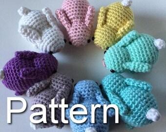 Ippopotamo Amigurumi Crochet : Amigurumi bunny Etsy