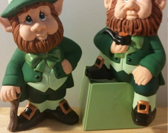 leprechauns - set of two