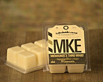 TWO - Milwaukee's Third Ward™- Espresso Bean + Hops - Soy Wax Melts - Wanderlust Destination Collection - Clamshell Tarts -All Natural