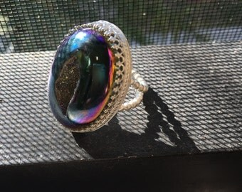 Druzy Statement Ring